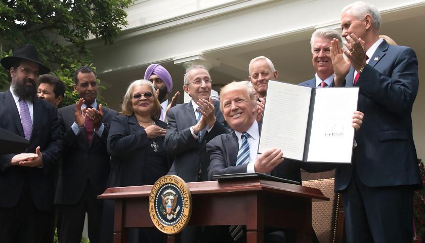 President Trump signs Executive Order