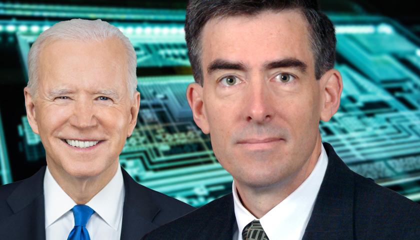 Joe Biden and John Inglis