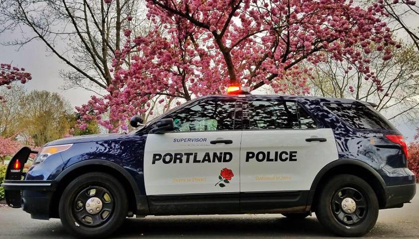 Portland Police SUV