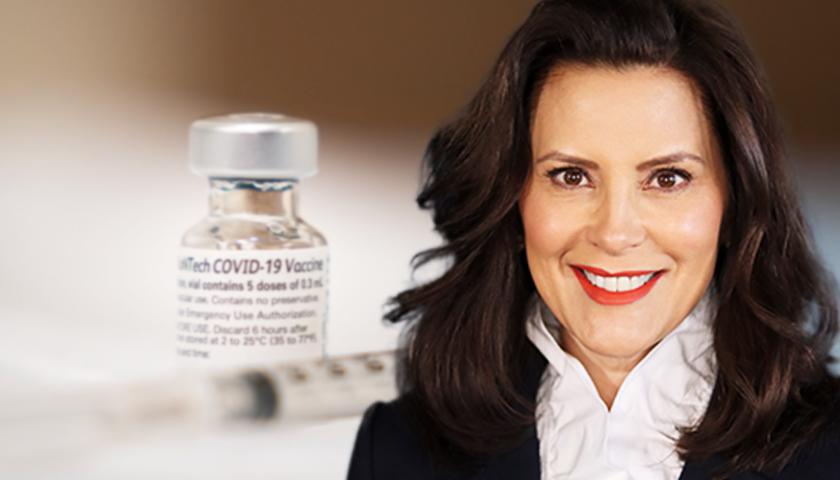 Gov. Whitmer Vaccine