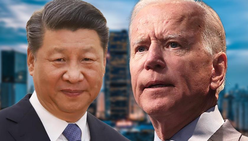 Xi Jinping and Joe Biden